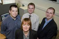 Letshost.ie team in Galway