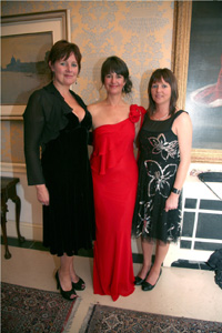 Jillian Godsil, Zara Stassin and Sharon Newsome at Zara's Planet Safari Ball