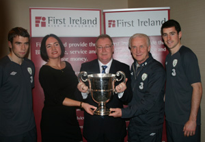 Trapattoni announces First Ireland AUL sponsorship