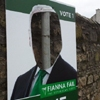 election poster in County Wicklow