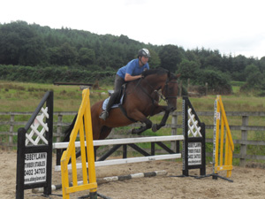 Tinahely Riding Club show jumping competition Wicklow