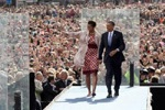 The Obamas in Dublin