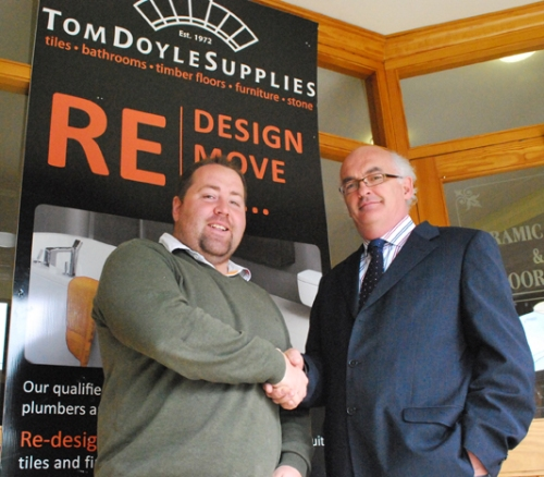 Patrick Doyle from Tom Doyle Supplies and Noel O'Toole from Ardex