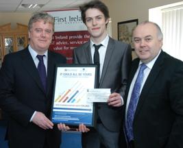 PR First Ireland DBS Student Entrepreneur of the Year Award 2011 winner