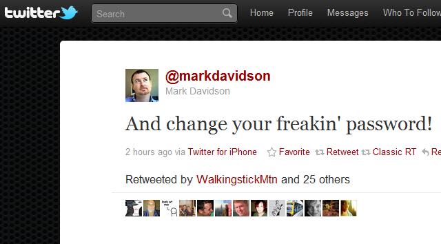 Mark Davidson twitter hoax