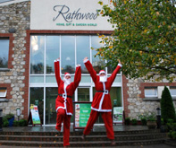 Wexford camogie players Deirdre Codd and Noleen Lambert at Rathwood