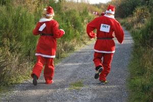 Santas on the run at Rathwood