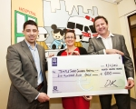 Tenego Partnering donate to Temple Street Hospital