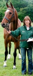 Sharon Power of Irish Horse Welfare Trust