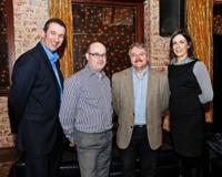 Tenego talking partnering at Techbrew in Dublin
